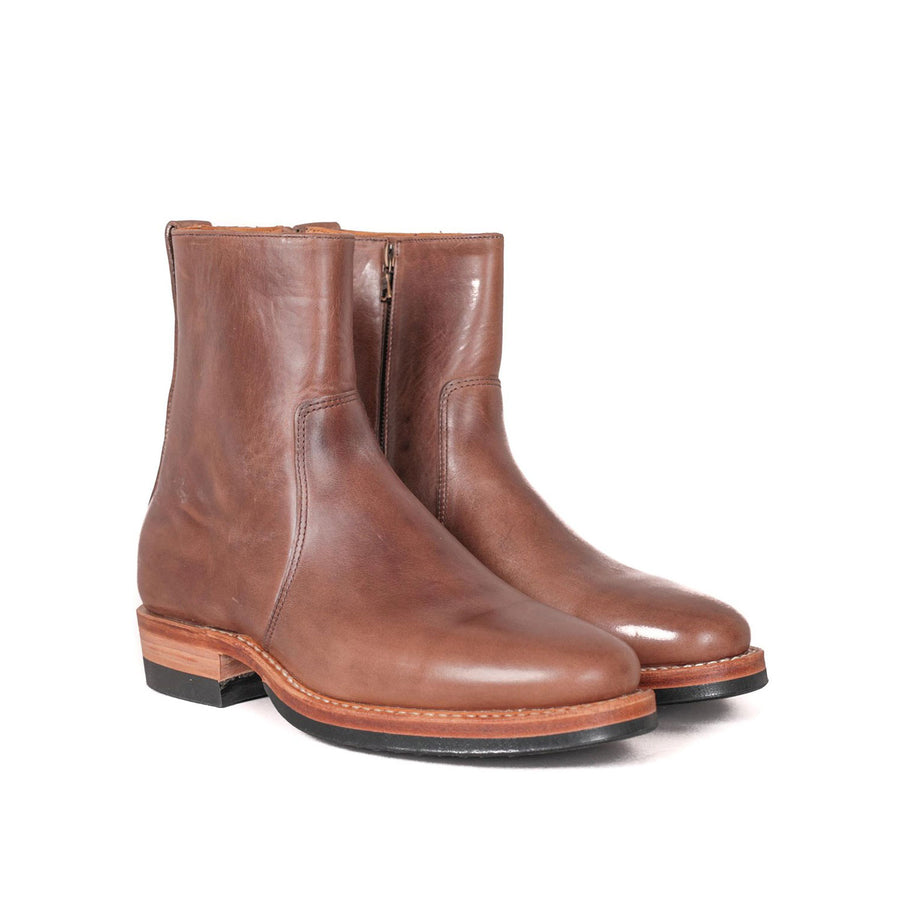"""AG"" Side Zip Boot Natural Chromexcel"