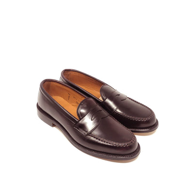 986 Handsewn Penny Loafer Color 8 Shell Cordovan