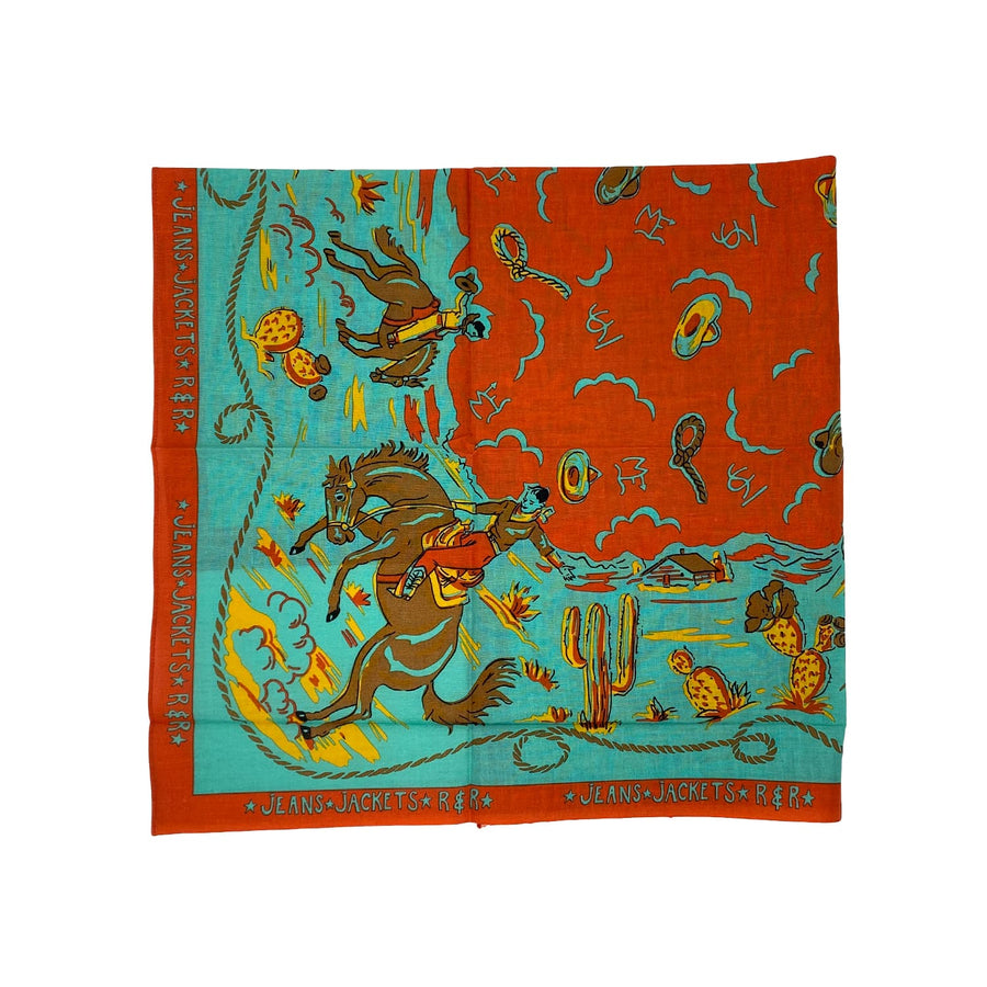Ranch Kerchief Turquoise
