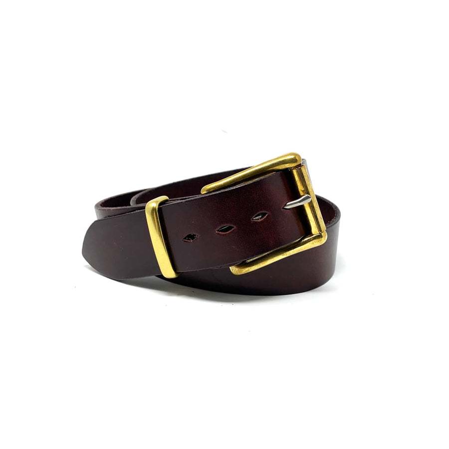 1.5 Inch Belt Waxy Bordeaux