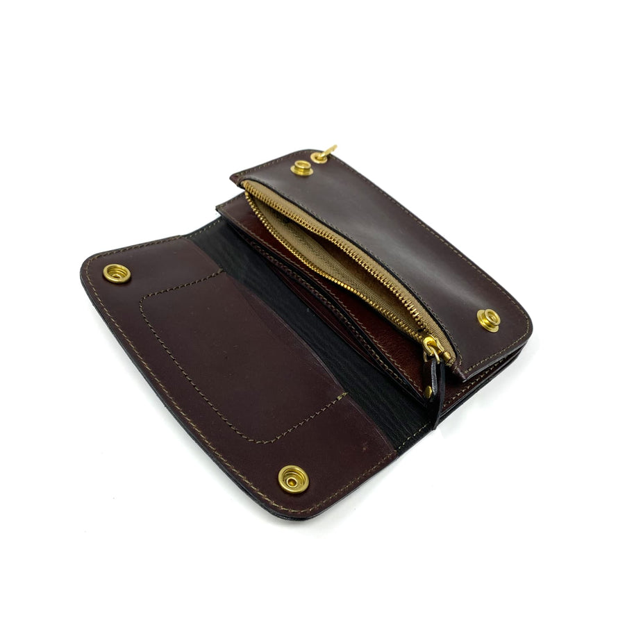 Phantom Trucker Wallet Brown Latigo