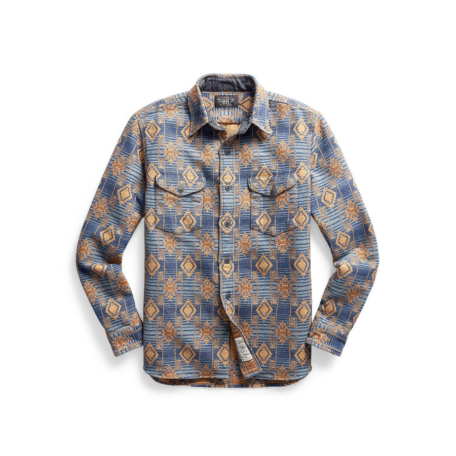 Brushed Jacquard Workshirt