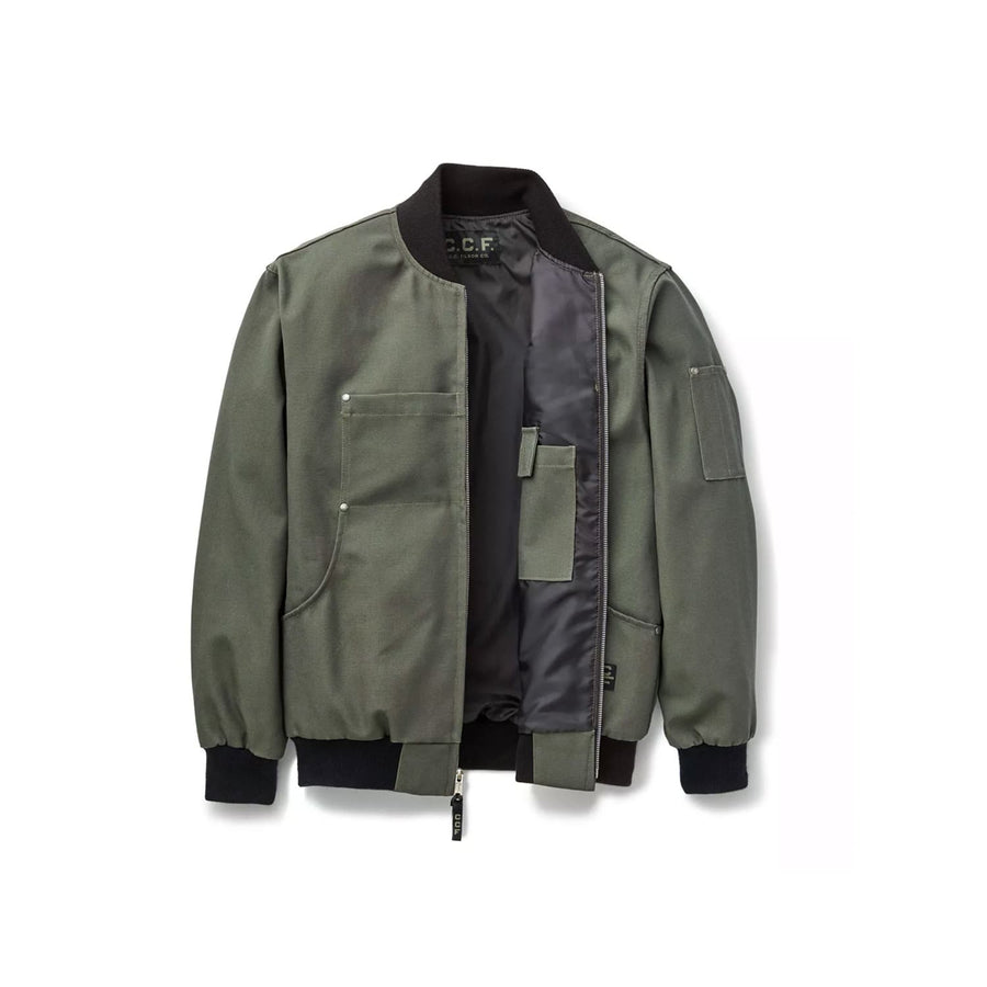 C.C.F. Bomber Jacket Cannonball Green
