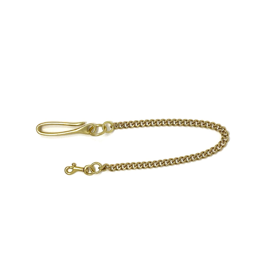 Solid Cast Brass Wallet Chain