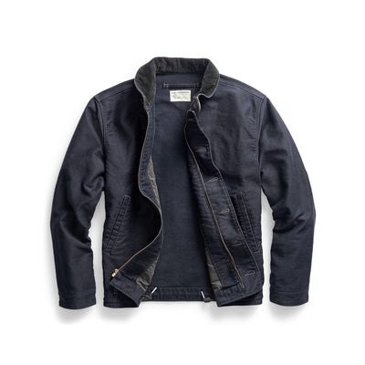 Jungle Cloth Deck Jacket Dark Navy