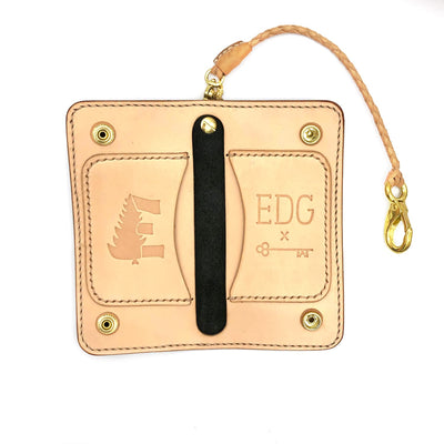 EDG x SOP Black Chromexcel Trucker Wallet