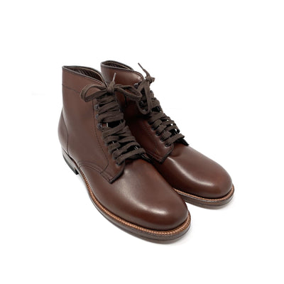 """Blinder"" Boot Brown Calfskin"