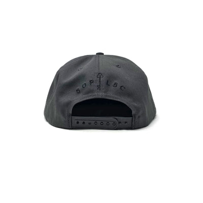 SOP Cotton Twill Snapback We Are Not Ghosts Charcoal