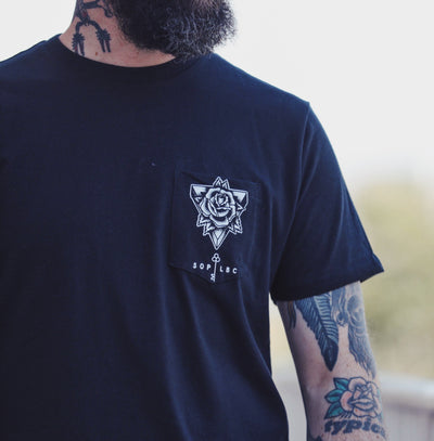 SOP Graphic Tee We Are Not Ghosts Rose