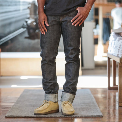 13.5oz Cryptic Denim SK Indigo