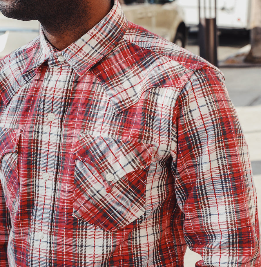 "Dude Rancher Shirt ""Joan"" Plaid"