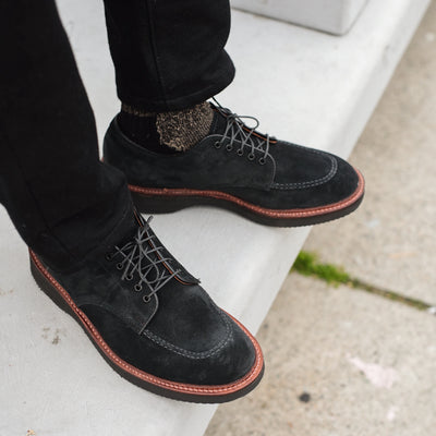 Temple Oxford Black