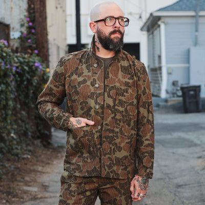 Harbor Jacket Blended Olive Anniversary Camo