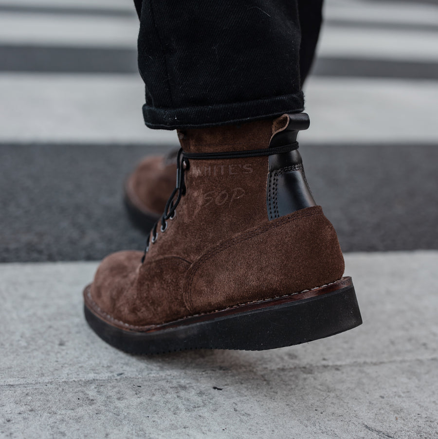 SOP x White's Big Shooter Brown Roughout