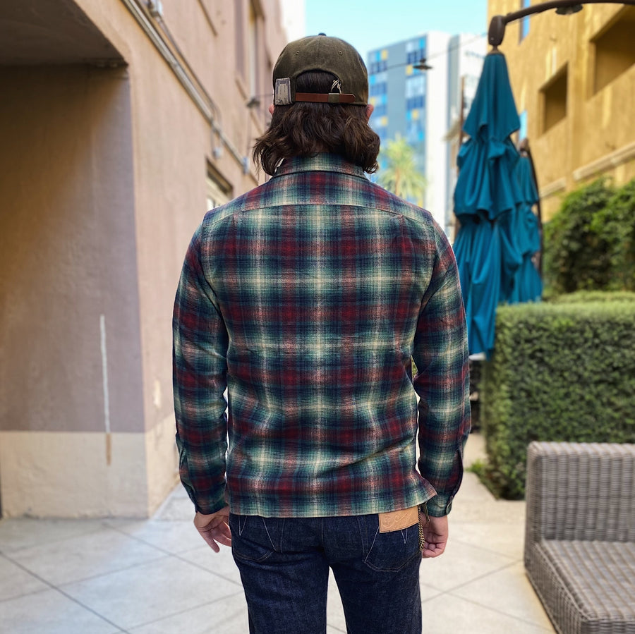 Towns Camp Shirt Plainview Tartan Plaid