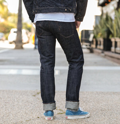 13.5oz Cryptic Denim Stanton Indigo
