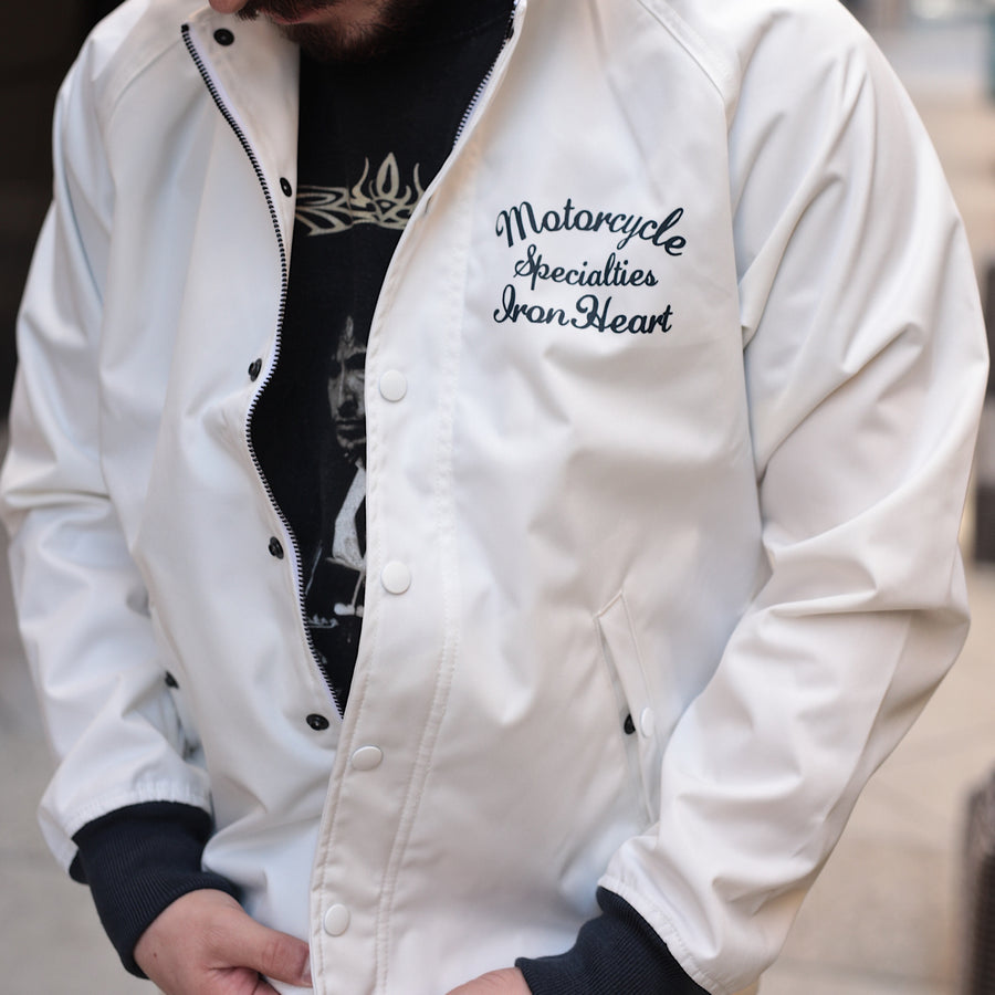 IHJ-88-WHT Cordura Windbreaker Jacket White