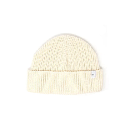 Cotton Knit Beanie Natural