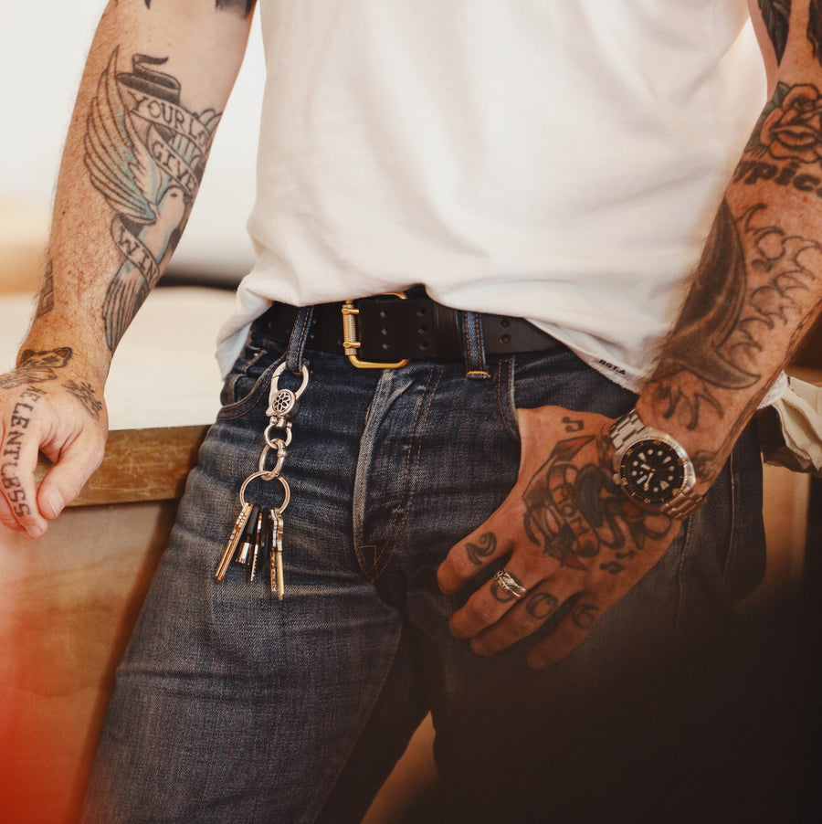 Scoundrel Dual Prong Belt Black