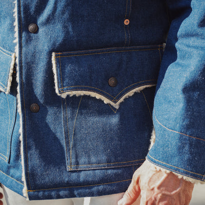"Maverick Coat ""Malibu"" Denim"