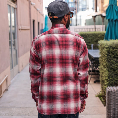 Utility Shirt Brushed Flannel Red