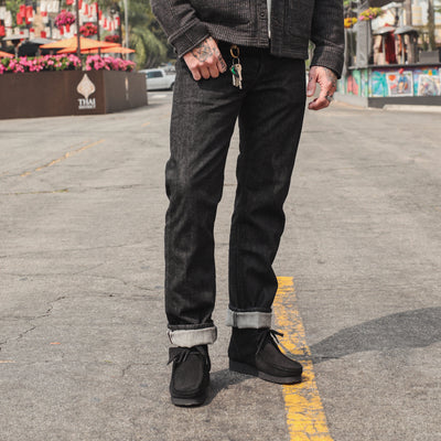 1108BK Straight Jean Black