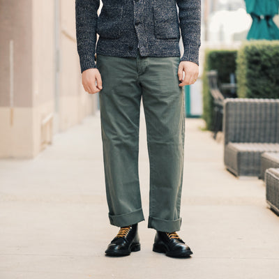 Cotton Field Chino Dark Olive