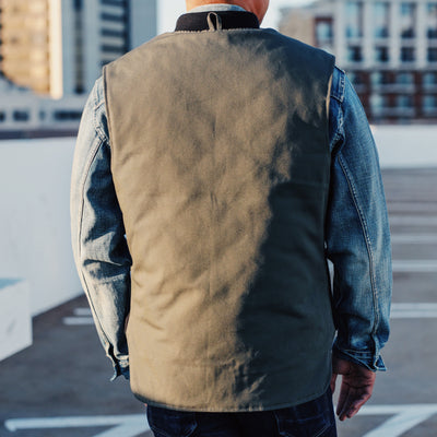 C.C.F. Work Vest Cannonball Green