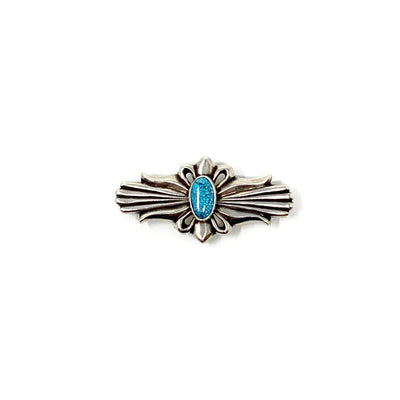 Sterling Silver Turquoise PIn Type II