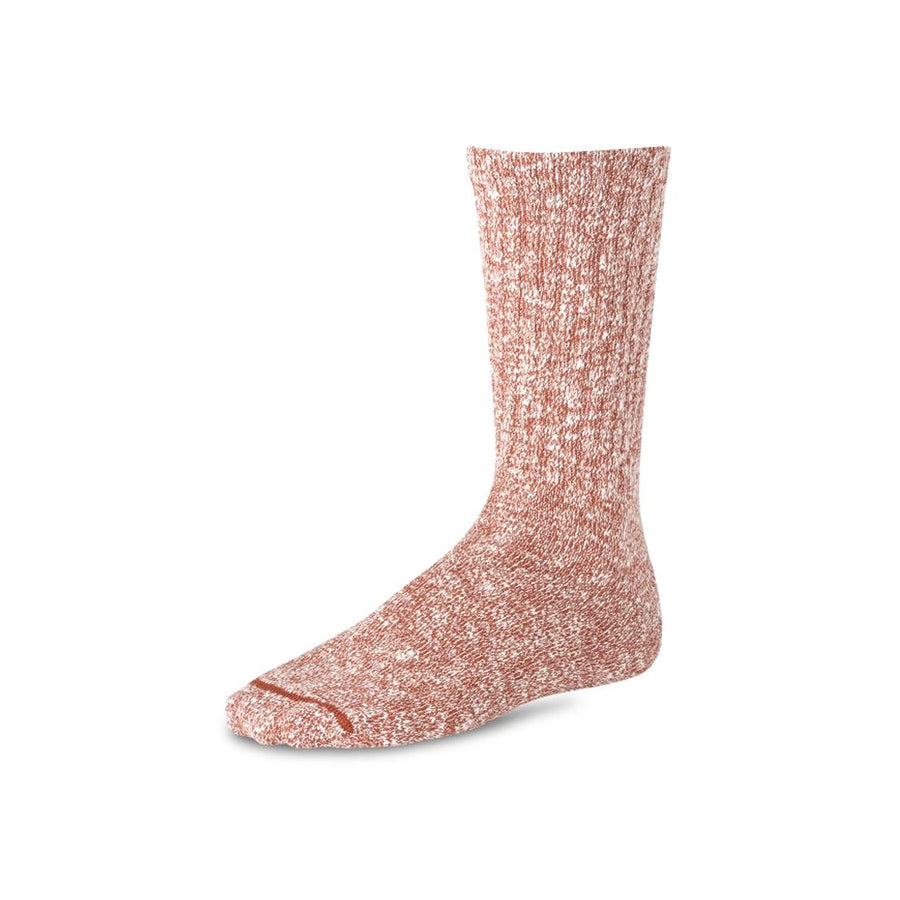 Cotton Ragg Sock Red & White