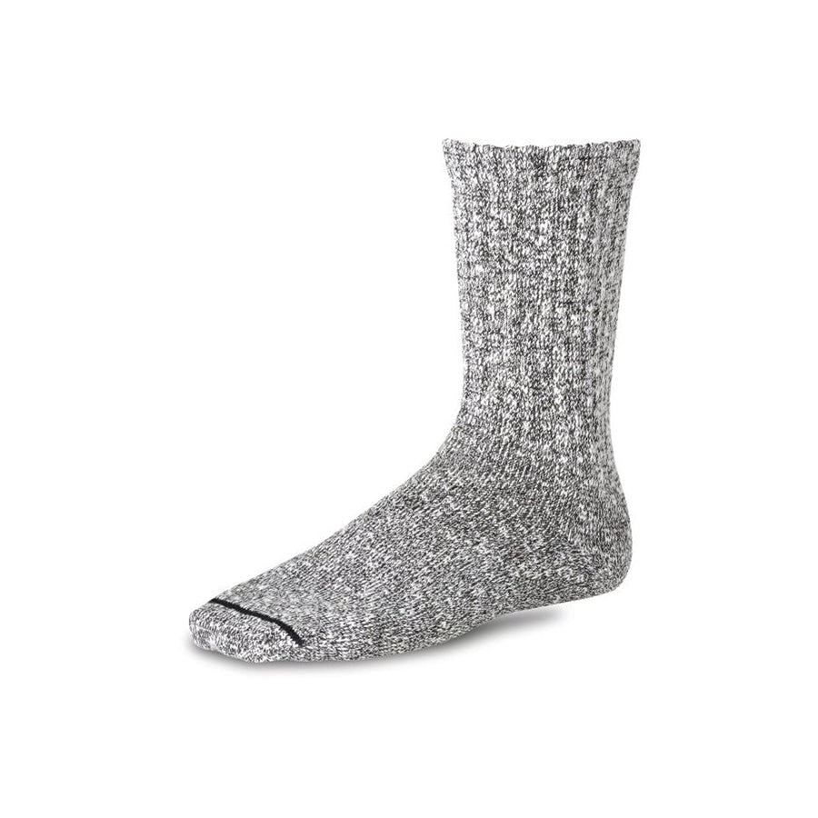 Cotton Ragg Sock Black & White