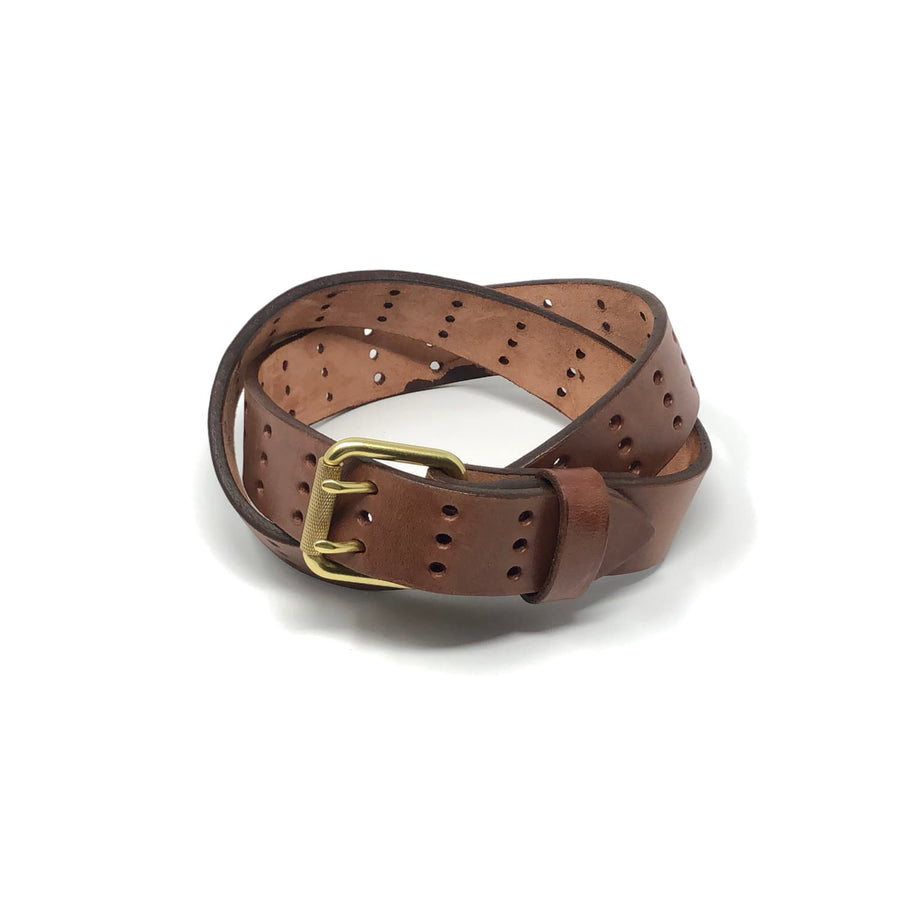 The Black Acre x SOP Scoundrel Belt Brown