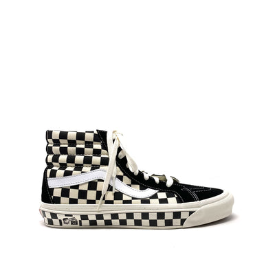 Sk8-Hi 38 DX OG Black/Checkerboard (Anaheim Factory)