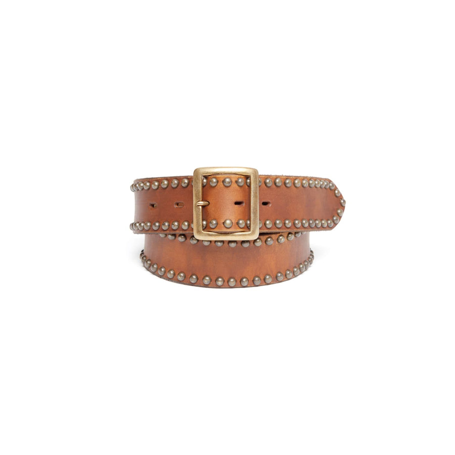 Gallison Belt Studded Brown