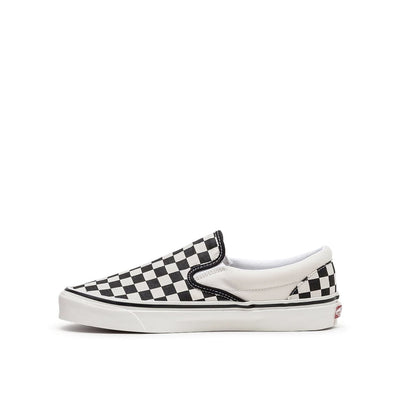 Classic Slip On 98 DX Black Checkerboard