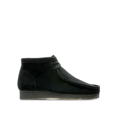 Wallabee Boot Black Suede
