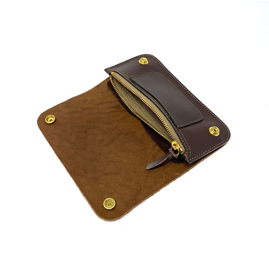 Phantom Trucker Wallet Brown Roughout