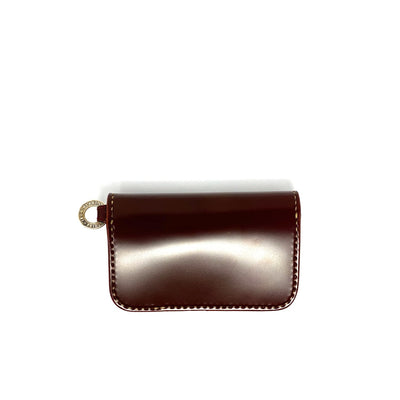Medium Shell Cordovan Wallet Oxblood