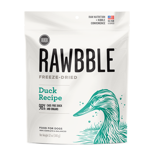 Bixbi Rawbble Freeze-Dried Food For Dogs