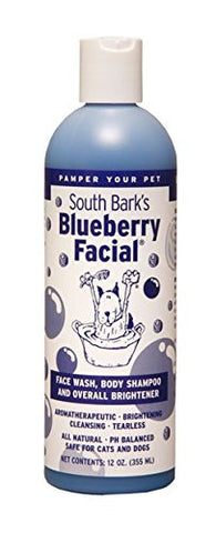 South Bark's Blueberry Grooming Products