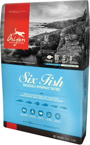 Orijen Six Fish Biologically Appropriate Dog Food