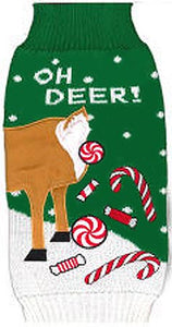 OH DEER Holiday Sweater