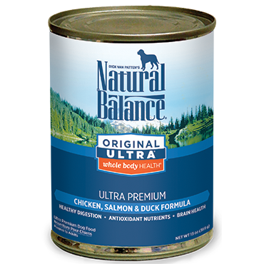 Natural Balance Canned Food Formulas for Dogs