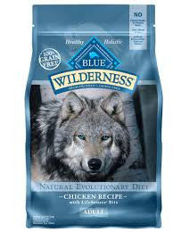 BLUE Wilderness Grain-Free Chicken Formula for Dogs