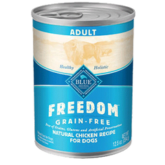 Blue Freedom Chicken Can