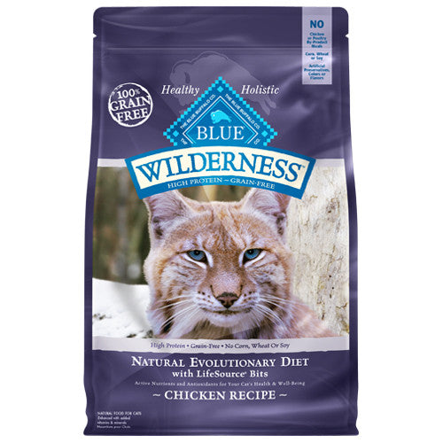 BLUE Wilderness Grain-Free Dry Recipes for Cats