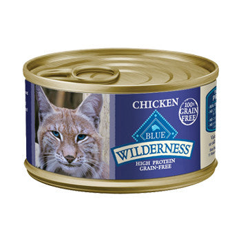 BLUE Wilderness Grain-Free Canned Recipe for Cats