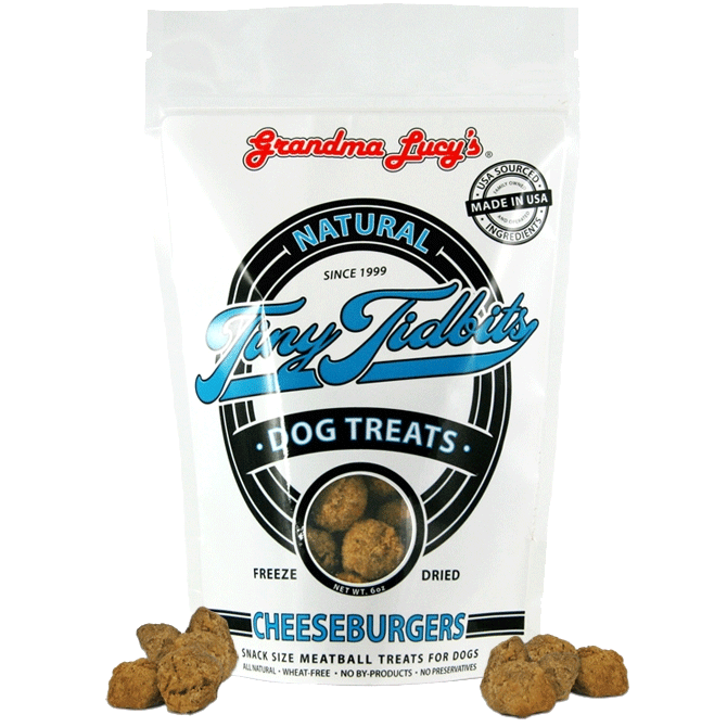 Grandma Lucy's Tiny Tidbits Cheeseburger Dog Treats