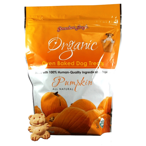 Grandma Lucy's Organic Pumpkin Baked Dog Treats