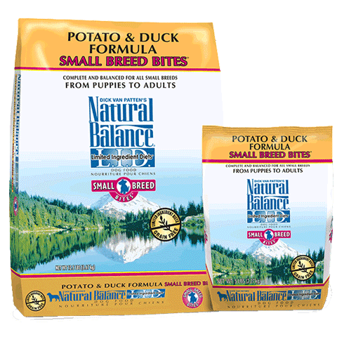 Natural Balance Grain-Free, L.I.D. Potato & Duck Formula Small Breed Bites